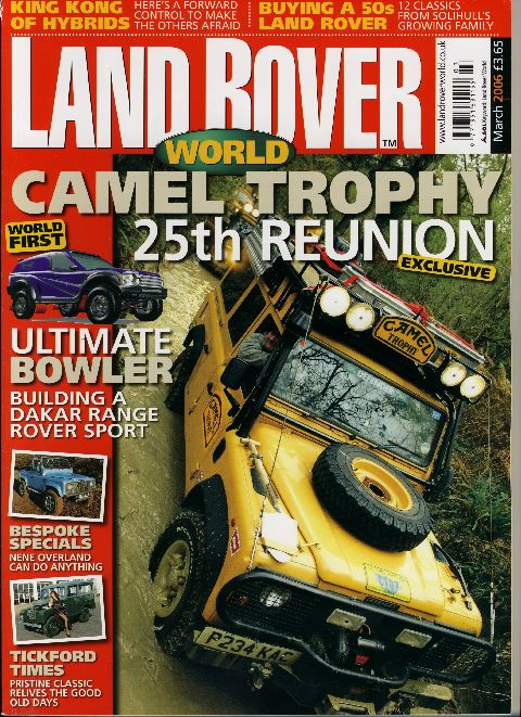 Land Rover World March 2006