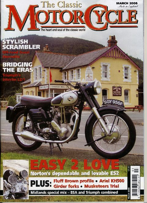 The Classic MotorCycle March 2006