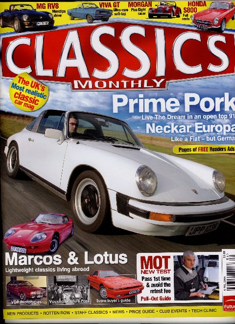 Classics Monthly April 2006