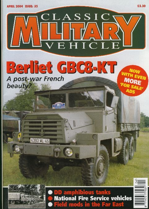 Classic Military Vehicle April 2004