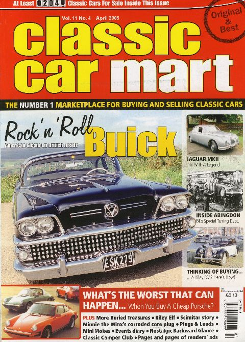 Classic Car Mart April 2005
