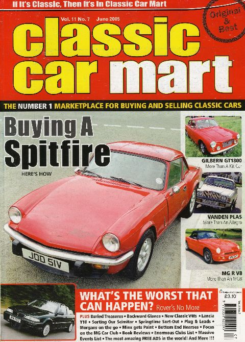 Classic Car Mart June 2005