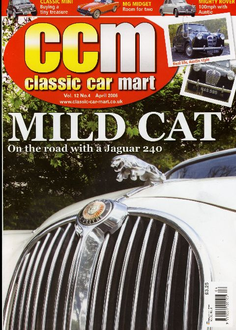 Classic Car Mart April 2006