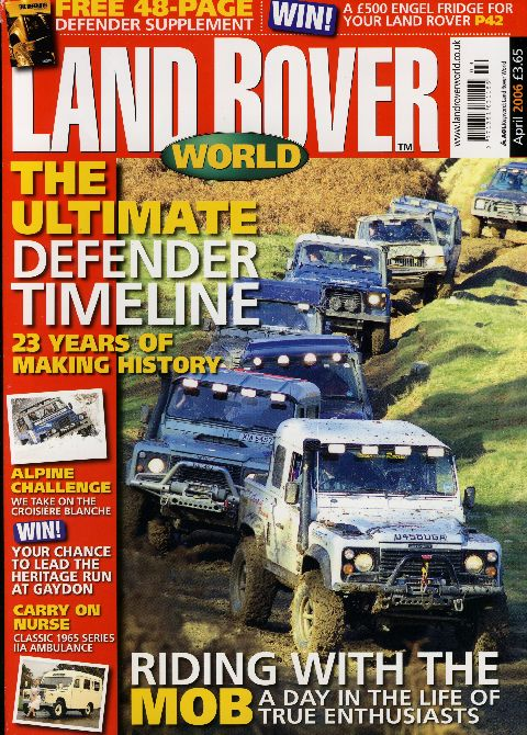 Land Rover World April 2006