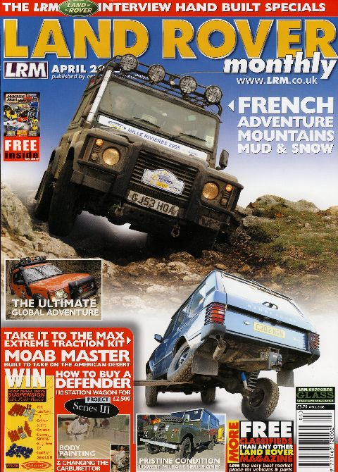 Land Rover Monthly April 2006