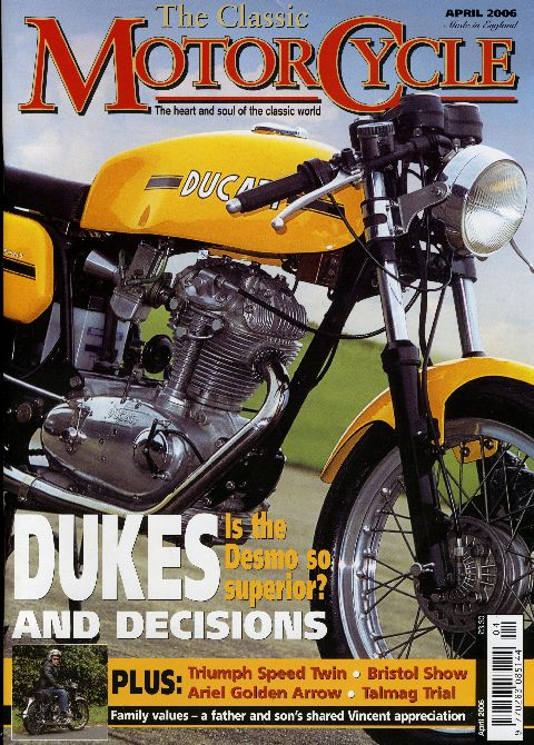 The Classic MotorCycle April 2006