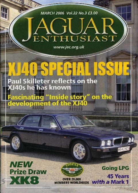 Jaguar Enthusiast March 2006