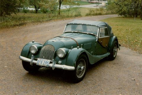 Morgan Plus Four Competition