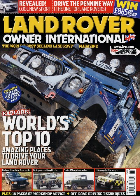 Land Rover Owner International May 2006