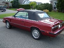 Dodge 600ES Turbo Convertible
