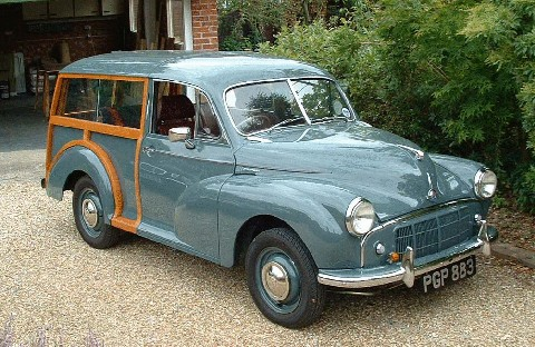 morris minor series ii traveller   picture gallery   motorbase
