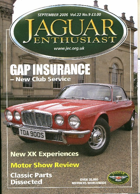 Jaguar Enthusiast September 2006