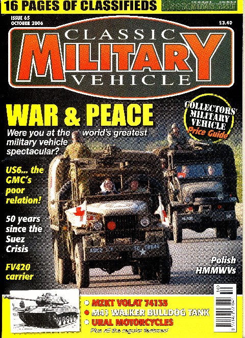 Classic Military Vehicle October 2006