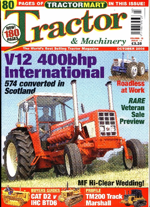 Tractor & Machinery October 2006