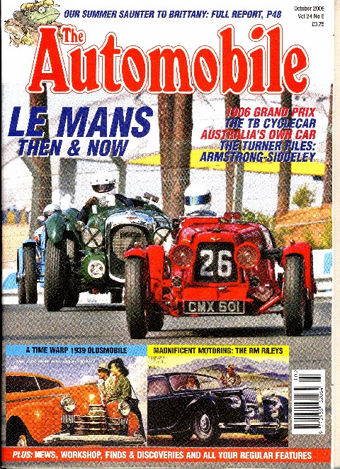 The Automobile October 2006