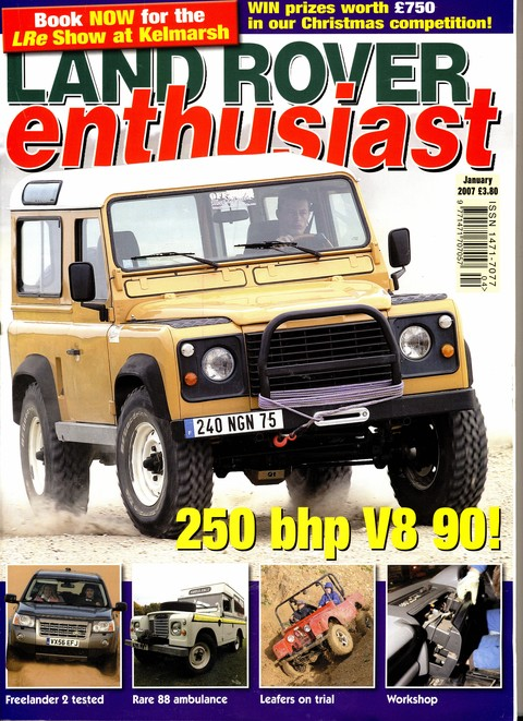 Land Rover Enthusiast January 2007