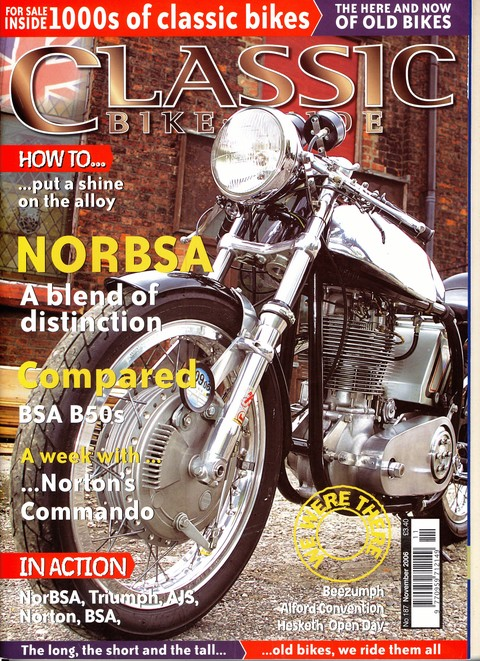 Classic Bike Guide November 2006