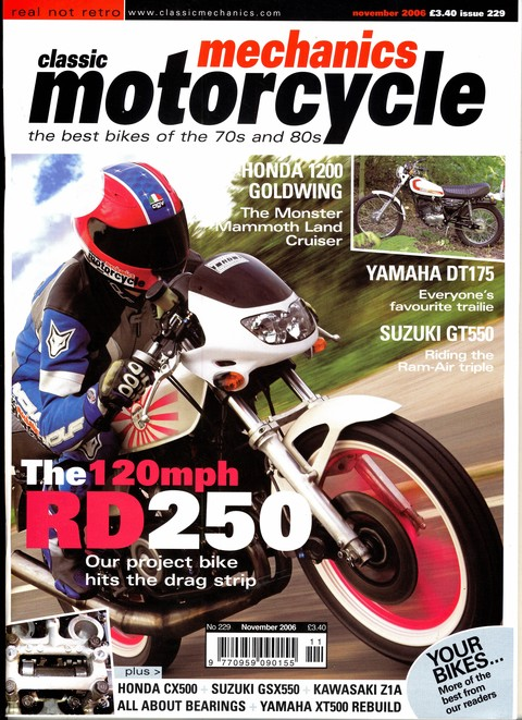 Classic & MotorCycle Mechanics November 2006