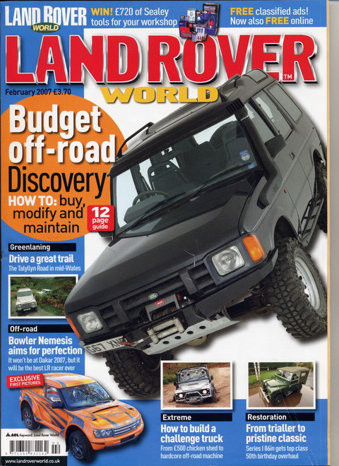 Land Rover World February 2007