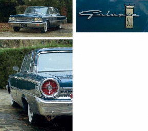 Ford Galaxie 500 V8 Four Door Saloon