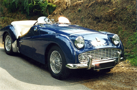 triumph tr3a   picture gallery   motorbase