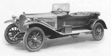 1920 Sunbeam 24 hp