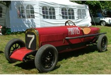 1921 Protos race car view