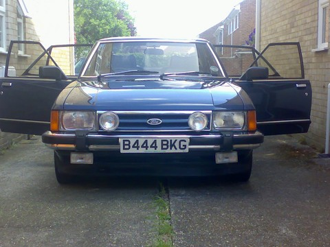 ford granada mkii   picture gallery   motorbase
