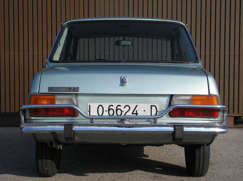 1979 Renault 7 TL Rear View