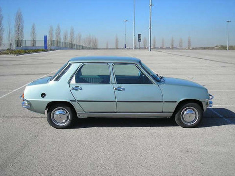 1979 Renault 7 TL Right View