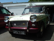 1964 Triumph Courier Van Front Left View