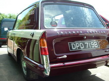 1964 Triumph Courier Van Rear Left View