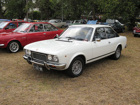 Fiat 124 Coupe Picture Gallery Motorbase