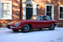 Jaguar E-type 3.8 litre Coupe