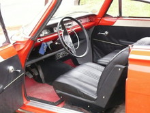 1962 Ford Consul Capri Coupe Front Seats