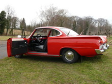 1962 Ford Consul Capri Coupe Open Left Door