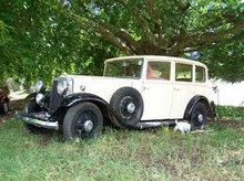 1932 Armstrong Siddeley 20 Long