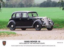Rover Speed 16