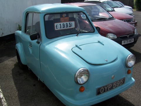 1954 AC Invacar Front Right View