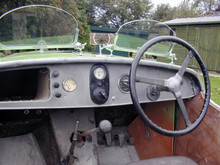 1934 Raleigh Safety 7 Tourer Dashboard