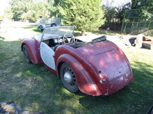 1948 Lloyd 650 Roadster Rear Right View