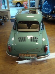 1959 NSU Prinz 2 rear top view