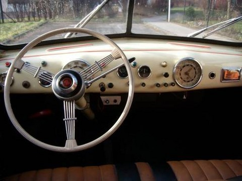 1950 Tatra 600 Tratraplan Dashboard Picture Gallery