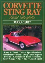 Corvette Sting Ray Gold Portfolio 1963-67
