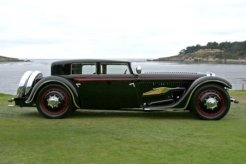 1932 Bucciali TAV8-32 Saoutchik Golden Arrow svr