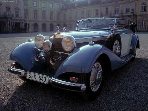 1937 Mercedes-Benz 540 K Luxury Roadster fvl