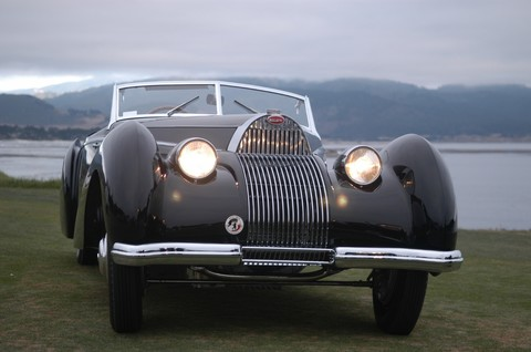 1939 Bugatti Type 57C Voll et Ruhrbeck Cabriolet fv2