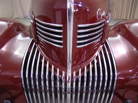 1939 Chrysler Imperial Red 11