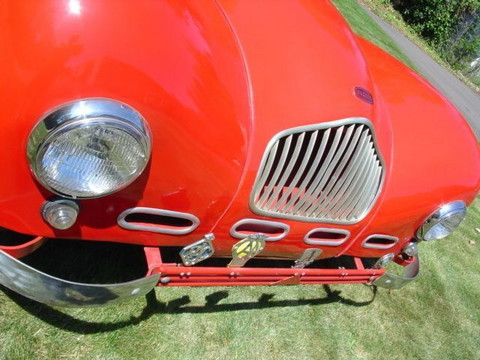 1950 Allard K2 Roadster red-fVgrille mx
