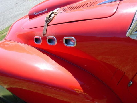 1950 Allard K2 Roadster red-hood vents mx
